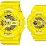 นาฬิกา CASIO นาฬิกาคู่ G-SHOCK GA-110BC-9 และ BABY-G BA-110BC-9 ประกันศูนย์ CMG