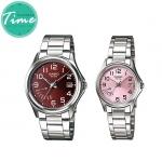 """นาฬิกาคู่ 1369 Standard Analog """"Red"""""""