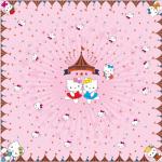 ผ้าพันคอลาย Kitty Carnival