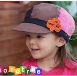 หมวกเด็ก **สีสันสดใส** แต่งดอกไม้ (Pre-order)