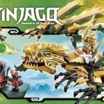 Lego Ninjago 70503 : The Golden Dragon