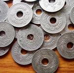 เหรียญ ๑๐ สตางค์เก่า ปีพ.ศ.๒๔๗๘
