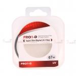 JYC Pro 1 D Super Slim UV fiter 67mm