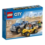 LEGO City 60082 : Great Vehicles Dune Buggy Trailer
