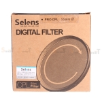 Selens CPL filter 55mm