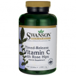 Swanson, Timed-Release Vitamin C w/Rose Hips 1,000 mg 250 Tabs