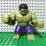 Hulk - Dark Purple Pants with Dark Red Pattern