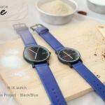 นาฬิกาคู่  N.IX watch รุ่น Duo Project - Black/Blue