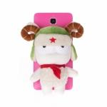 Mi4 Back Cover Case With Mitu Sheep เคสฝาหลังตุ๊กตาแกะมี่ตู