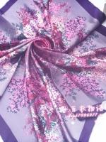 ผ้าพันคอผ้าซาติน Blossom Japanese Style