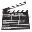 (Q001) Wood Movie Film Slate ( black ) thumbnail 2
