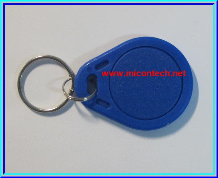 1x RFID IC Key Tags Mifare 13.56MHz (Blue Color)