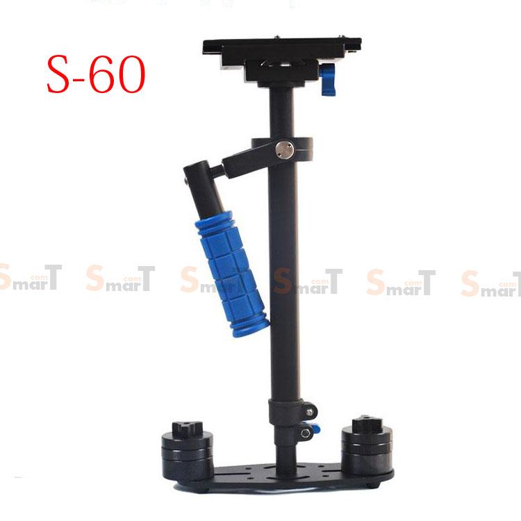 S-60 Handheld Stabilizer 0.5-3.5KG Flycam Steadycam Steadicam Video Camera