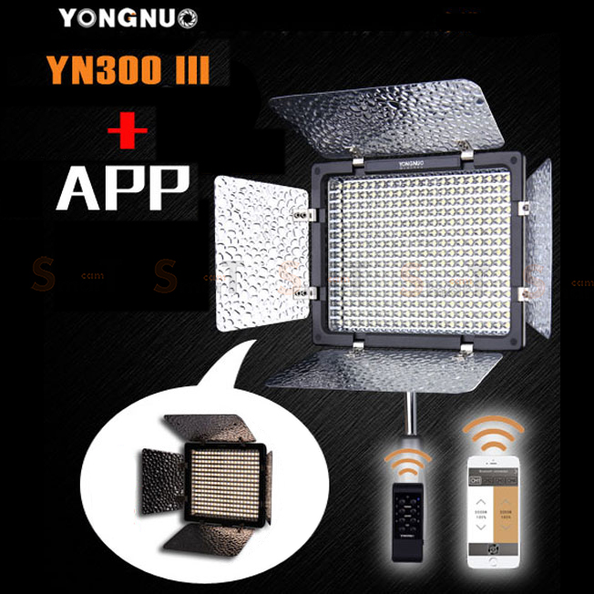 Continuous Lighting YN300 III New YongNuo LED Video Light