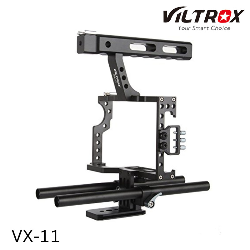 VILTROX VX-11 Aluminum Camera Video Cage Film forSony A7,A7II,A7s,A7r,A7Rii and Panasonic GH4