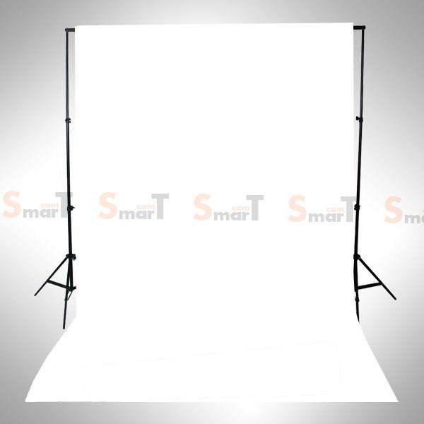 Background White Backdrop 3.2x6m. Cotton for Chromakey