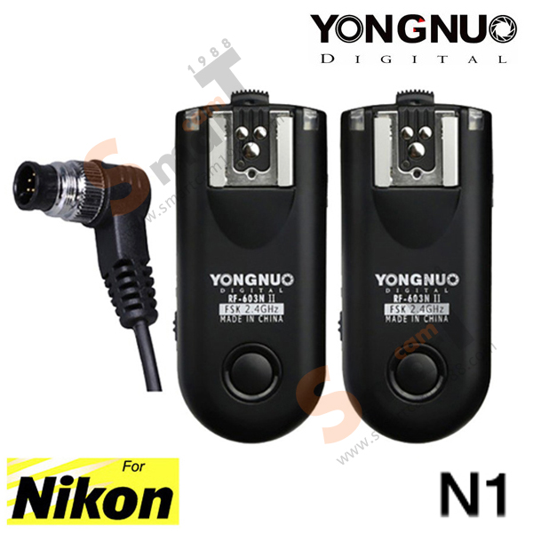 Wireless Flash Trigger Yongnuo RF-603N ii for Nikon N1