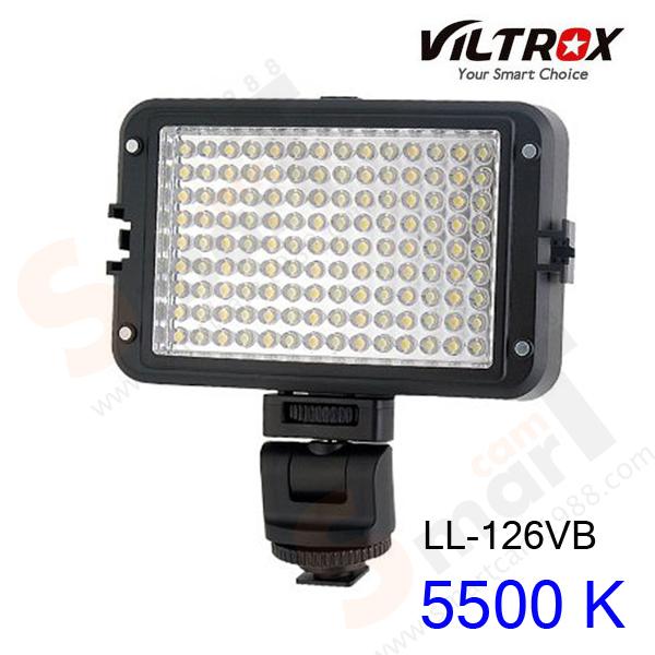 VILTROX LL-126VB LED Light 5500 K for Camcorder Camera