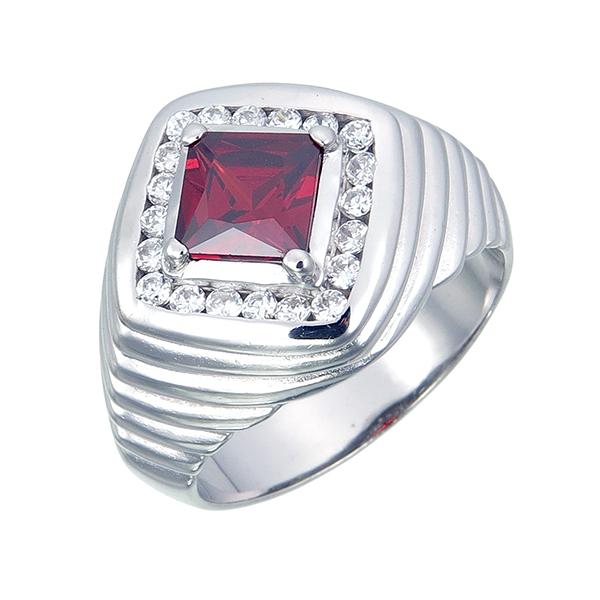 แหวนพลอยผู้ชาย ประดับเพชรCZ แหวนพลอยแดงทรงสี่เหลี่ยม ประดับล้อมเพชรกลมขาว บ่าฉลุร่องเป็นชั้นๆมีความเท่จับใจ ผลิตด้วยขั้นตอนอย่างพิถีพิถัน ทำให้งานออกมาประณีต ดีไซน์ทันสมัย ใส่ได้ทุกวัน