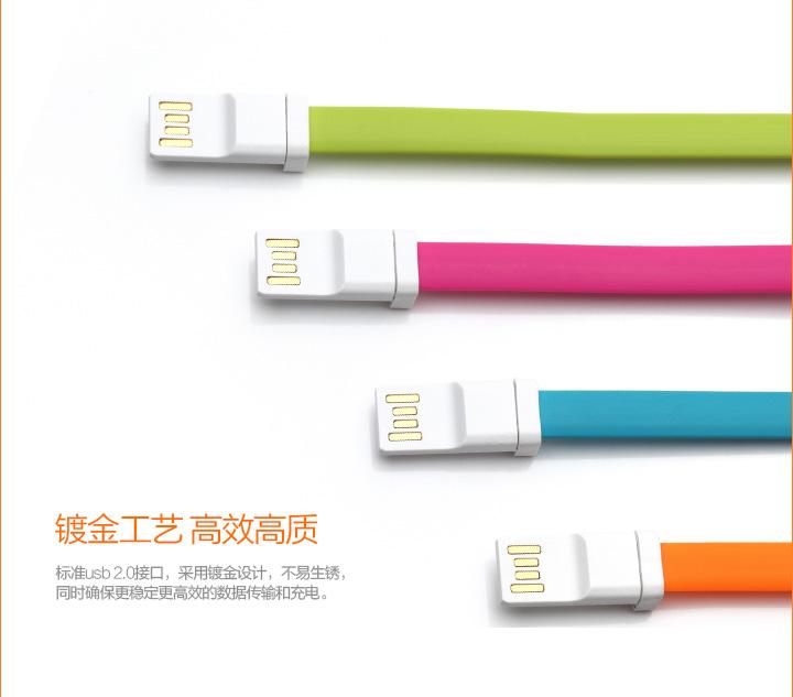 สายแบน USB 20ซม.
