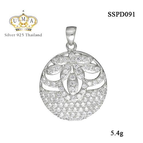 จี้เงินแท้925ประดับเพรชแท้สวิส เกรดดี น้ำใส ,จี้,จี้ เงิน,จี้ เงิน แท้,จี้ เพชร,จี้ เพชร แท้ ราคา ถูก,จี้แฟชั่น,จี้ผู้หญิง,จี้สวยๆ,Pendant silver925