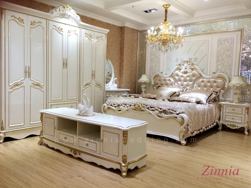ชุดเฟอร์นิเจอร์ห้องนอน White Platinum