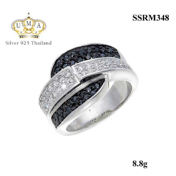 แหวนเงิน ประดับเพชร CZ แหวนดีไซน์แปลกตา ลุคสุดคลาสสิค เรียบหรู ที่ลงตัวทั้งสวยทั้งเก๋ดีทันสมัย ชิคๆไม่ซ้ำใคร