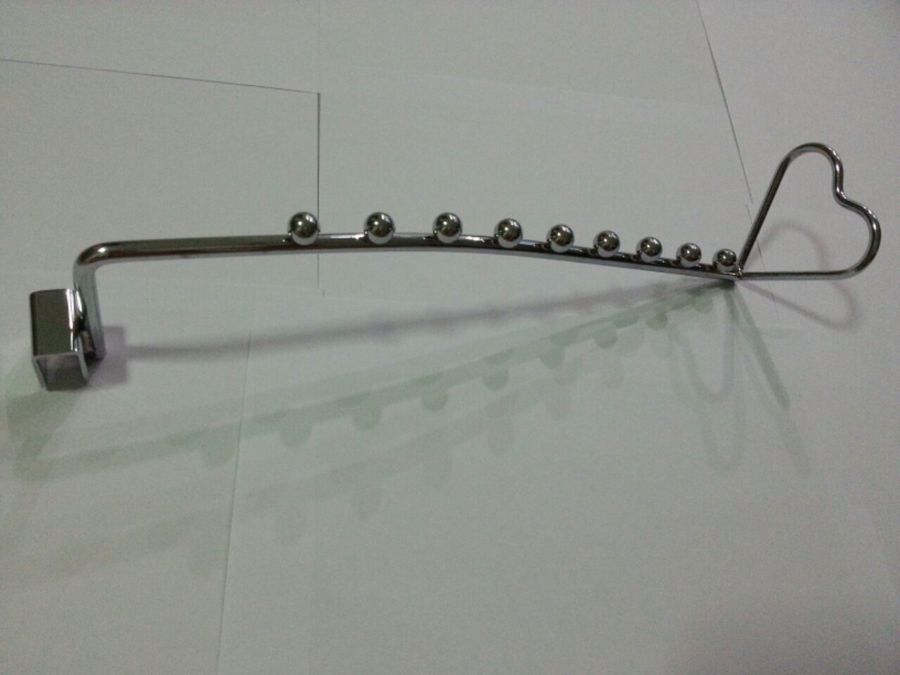 แขนเกี่ยว รูปหัวใจ 9 ปุ่ม (ใช้ร่วมกับแป๊บเหลี่ยม) ขายส่งยกกระสอบ