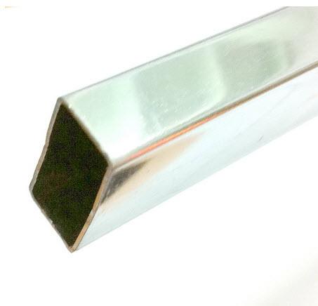 แป๊บเหลี่ยมชุบโครเมี่ยม ยาว 1.0m 1.2m 1.5m 1.8m 2.0m