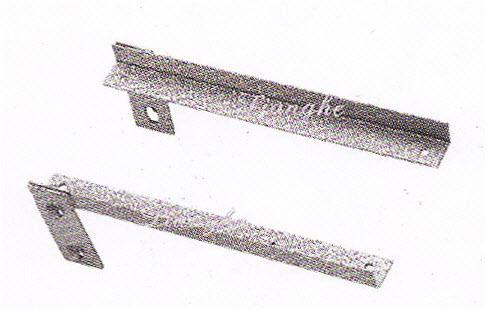 แขนรับชั้น ซ้าย+ขวา(ใช้กับเสารูกุญแจ) ยาว 250 มม.