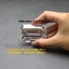 เพชรCZ ทรงสี่เหลี่ยมมุมตัด สีขาว (OCTAGON White) - Size 8x10mm - 1แพ็ค - 50เม็ด