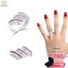 แหวนเพชร ประดับ เพชรCZ แหวนลายเกลียว ประดับเพชรกลมขาวสลับเพชรกลมชมพู มีประกายระยิบระยับ แวววาว ดูหรูหรา ก้านแหวนเรียวเล็ก สวมใส่สบาย