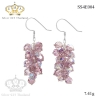 ต่างหูคริสตัล - Crystal swarovski earrings