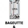 เพชรCZ ทรงสี่เหลี่ยมผืนผ้า สีขาว (BAGUETTE White) - Size 2x4mm - 1แพ็ค - 200เม็ด