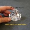 เพชรCZ ทรงหัวใจ สีขาว (HEART White) - Size 9x9mm - 1แพ็ค - 50เม็ด
