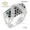 แหวนเพชรcz ประดับเพชร CZ แหวนดีไซน์สุดเก๋ เพชรประกายแวว วาว เทียบเท่าเพชรแท้ คลาสสิค คงความสวยหรู ชิ้นงานมีความละเอียด ประณีต สวยงาม
