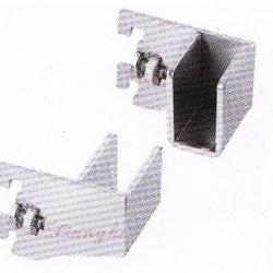 แขนรับแป๊บเหลี่ยมซ้าย+ขวา รุ่นหนา