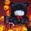 Mitu Black cat doll - ตุ๊กตา Mitu ผีแมวดำค้างคาว thumbnail 5