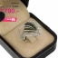 แหวนทองคำขาว ประดับเพชร CZ แหวนใบไม้ ดีไซน์ทันสมัย งานเวอร์วังอลังการ ความสวยระดับไฮโซ งามสะดุดตาประทับใจแก่ผู้พบเห็น thumbnail 2
