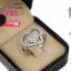 แหวนเพชร ประดับ เพชรCZ แหวนลายเส้นดัดเป็นรูปหัวใจ ฝังเพชรประกบหน้ารูปหัวใจ ทรงแบบโมเดิร์น จัดเต็มแบบหรูๆ ดีเทลสวยตรึงใจ thumbnail 2