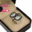 แหวนเพชร ประดับ เพชรCZ แหวนทรงใบไม้ไขว้กันฝังเพชรสี่เหลี่ยมล้อมรอบเพชรกลมขาวยาวถึงก้านใบ สไตล์หรูหรา ดูแพงเพิ่มให้ลุคของคุณดูสง่า thumbnail 2