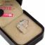 แหวนเพชร ประดับ เพชรCZ แหวนดอกไม้ประดับเพชรกลมขาว โดดเด่นด้วยดีไซน์เรียบหรู สามารถสวมใส่ได้หลายโอกาส thumbnail 2
