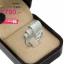 แหวนเงิน ประดับเพชร CZ แหวนเพชรทรงมาร์คีย์ไขว้ ดีไซน์สวยหรูดูแพง งานเวอร์วังอลังการ เพิ่มความโดดเด่นให้กับเรียวนิ้ว thumbnail 2
