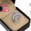 แหวนทองคำขาว ประดับเพชร CZ ดีไซน์สวยหรูดูแพง งานเวอร์วังอลังการ สวยเด่นด้วยดีไซน์ เน้นมิติได้สวยลงตัวสุดๆ thumbnail 2