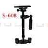 S-60 Black Handheld Stabilizer 0.5-3.5KG Flycam Steadycam Steadicam Video Camera