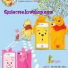 Case iPhone 4/4s iPhone 5 ลาย หมีพู (Winnie Pooh)