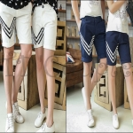 PRE-ORDER กางเกงคู่รัก เกาหลีใหม่ฤดูร้อนกางเกงขาสั้นออกแบบแฟชั่นฤดูร้อนทันสมัย ญ/ช.กางเกงขาสั้น