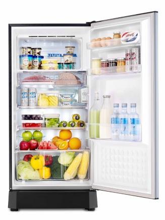 PANASONIC ตู้เย็น 1ประตู 183 ลิตร 6.5คิว สีเทา รุ่น NR-AH188R.H ...